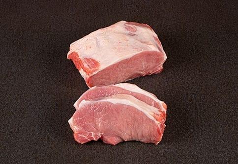 Karree-Steak-schwein